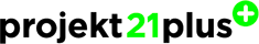 Logo des Projektpartners Projekt 21 Plus